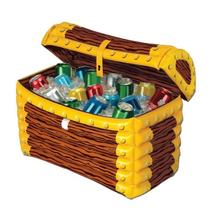 Inflatable cooler,  inflatable cooler bucket, inflatable treasure chest cooler for party and home use