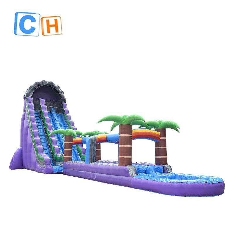 Customized inflatable water slide, Inflatable water slides for sale, giant blow up slip and slide