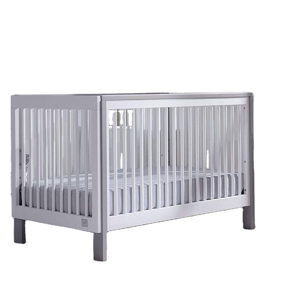 No.1267 Hot selling factory High quality metal Baby crib baby cot baby bed steel bed frame