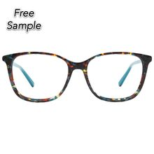 Stock Acetate Eyewear  Fashion Spectacles Computer Reading Glasses Anti Blue Light Blocking Glasses Eyeglasses Optical Frames