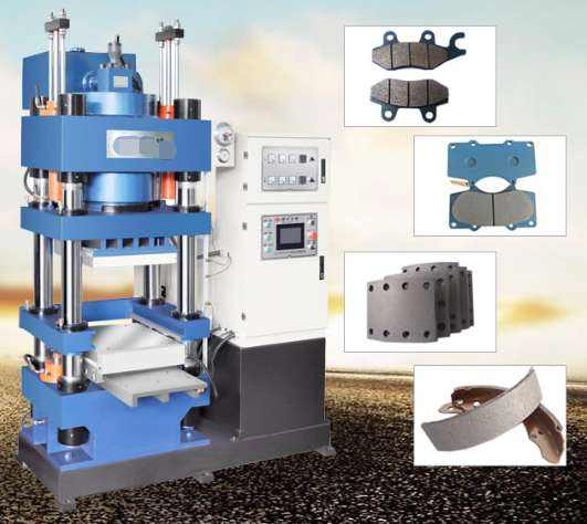 High Output 250 300 Ton Brake Shoes Lining Machine
