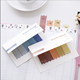 Korea &Japan Style Gradient Color Sticky Note Self-Stick Note Office Memo Note