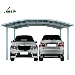 Cheap Waterproof Pc Diy Sun Shade Roof Alu Two Single Double Polycarbonate Garages Canopies Carport Aluminium For Cars