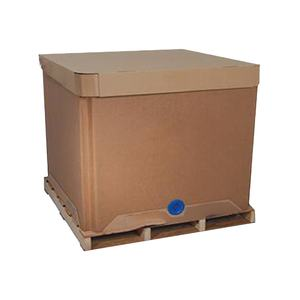 1000L Faltbare IBC Papier Tank Container Ersetzt Kunststoff ISO Tank Papier IBC Container