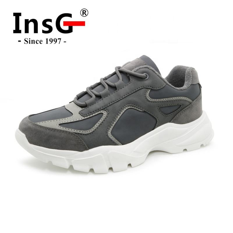 New Branded Customized Logo Stylish Men Waking Casual Sneakers Shoes Nuevos zapatos de hombre