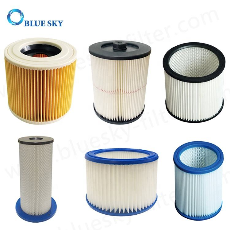 Vacuum Cleaner Cartridge Filters Replacement for Pullman/Karchers/Fein/Craftsman/Shop Vac/Nilfisk Vacuums