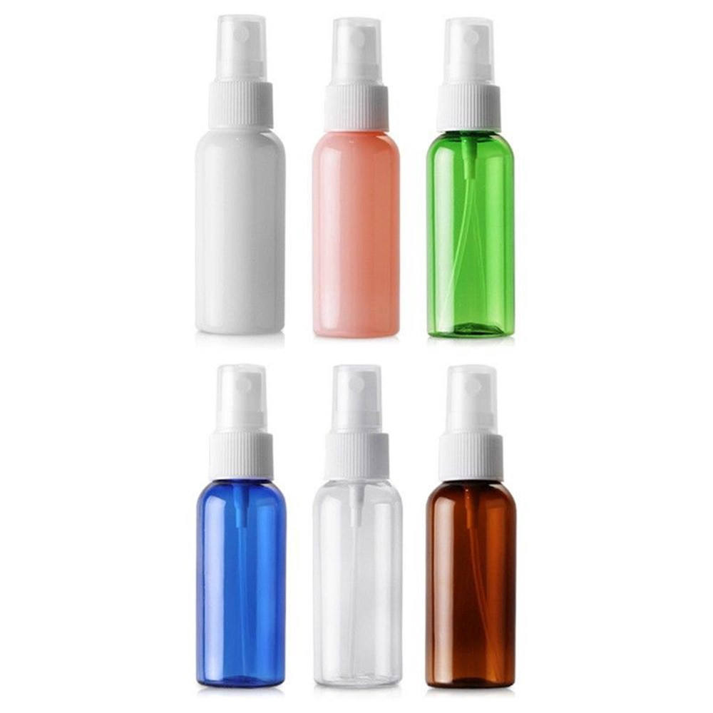 1oz 2oz perfume botellas de spray vacías 30 ml 50ml 100ml 120 ml 150ml 200ml de plástico botellas de Spray de Perfume con tapa