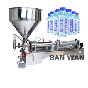 Hot sale horizontal one nozzle liquid bottle filling machine cosmetic filler with CE certificate