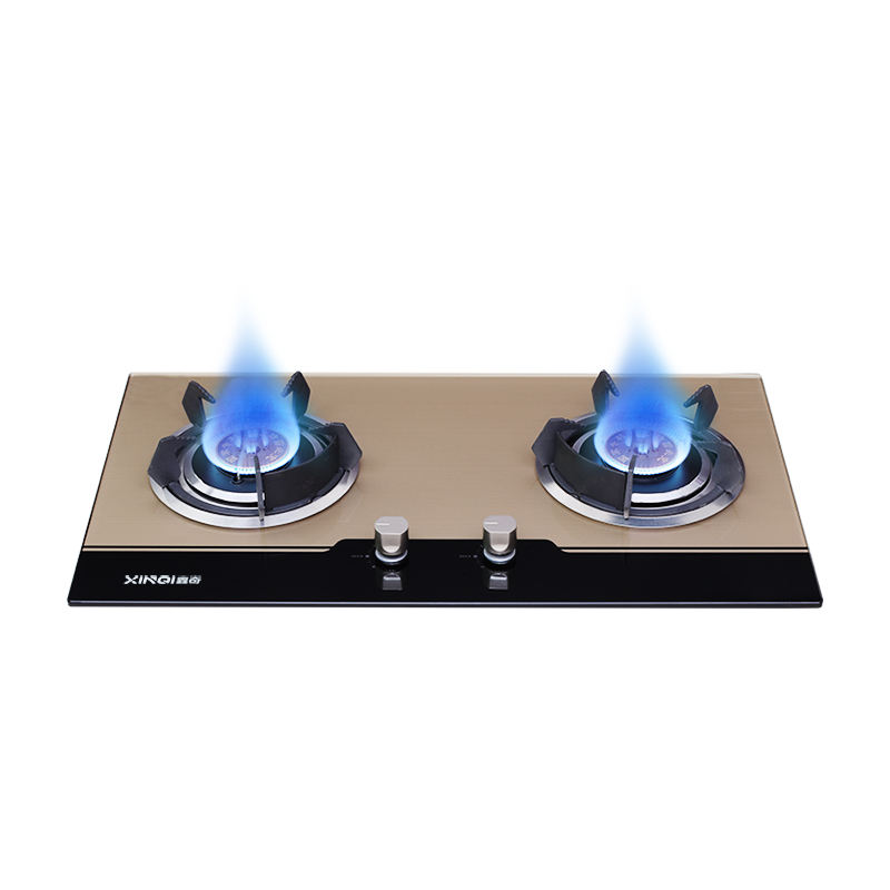 Tempered glass built in LPG gas hob cooker XB608-X6