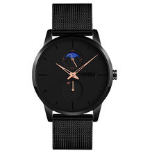 2020 SKMEI 9208 custom logo mesh stainless steel quartz uhren men watch luxury