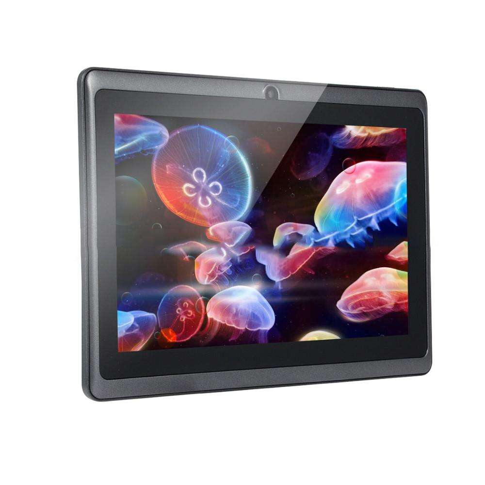 Shenzhen q88 A33 oem barato tabletas de 7 pulgadas quad core wifi bluetooth android tablet pc a mediados de 512 + 4GB ¡7 pulgadas de pantalla táctil android pc