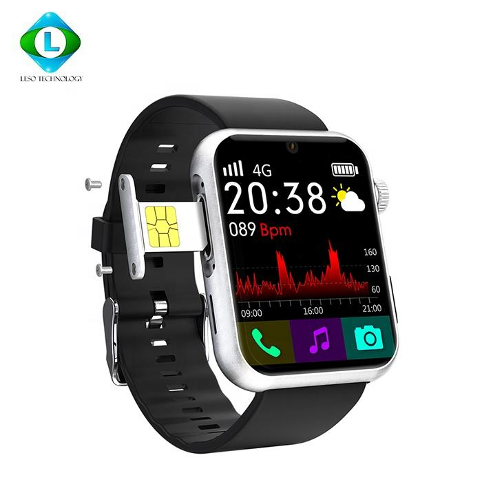 2020 Sim Card Built Programmable Dual Camera 4G Smart Watch With Voice TypingとUpload Pictures