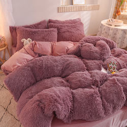 Wholesale 100% Polyester Warm Faux Fur Velvet Plush Mink Flu