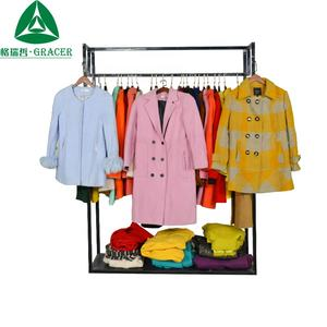 Winter Used Clothes Women Winter Worsted Coat Second Hand Clothes Price