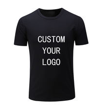 Factory wholesale custom print logo t shirt custom designs cotton blank men t-shirt for sale