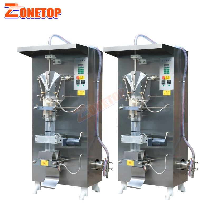 Hot Sale Price in Ghana Africa Plastic Pouch Bag Water Liquid Filling Packaging Sachet Water Making Machine