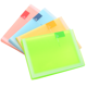 Hot Sale Waterproof Book Cover Candy Color PP Display Book A5 File Folder A5 Clear Book Cover
