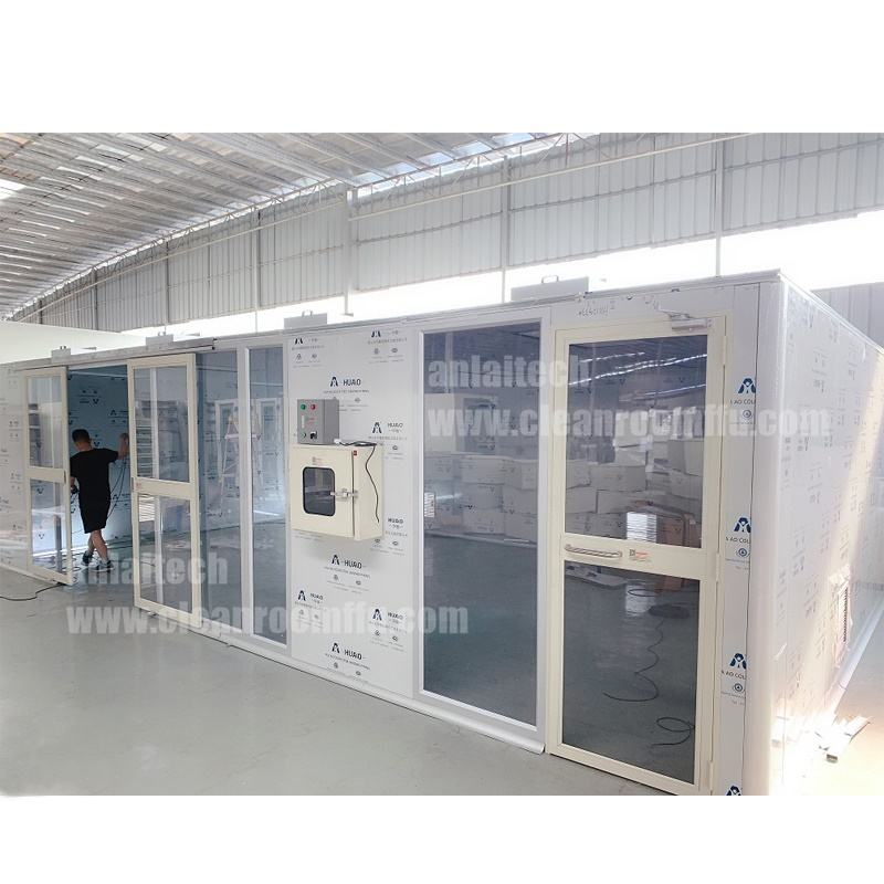 ALCS 20 * 42 cleanroom, easy installation Modular cleanroom