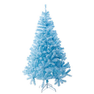 2020 Tiffany Blue 1.8m Plastic Christmas Tree Xmas Snow Tree Manufactures