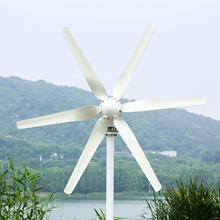 10 Years WARRANTY 800W Wind Turbine Generator For Marine Ship Or Home Use