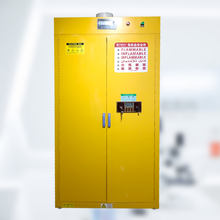 Physics Lab Chemical Safety Storage Gas Cylinder Cabinet With Gas Leak Detector