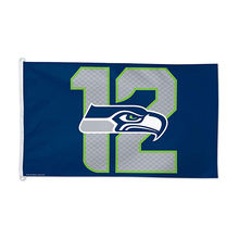 NFL Seattle Seahawks 12th Man Flag, 3 x 5-Foot, Multicolor