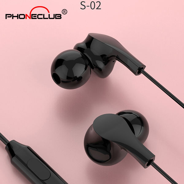 High quality wired earphones portable media player for mobile phone 3.55 jack stereo headphones