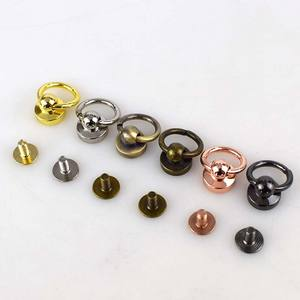 Deepeel F3-17 Handbag Chain Hanger Hardware Accessories Swivel Screw Ring Studs Button DIY Bags Rivet Nail Buckle