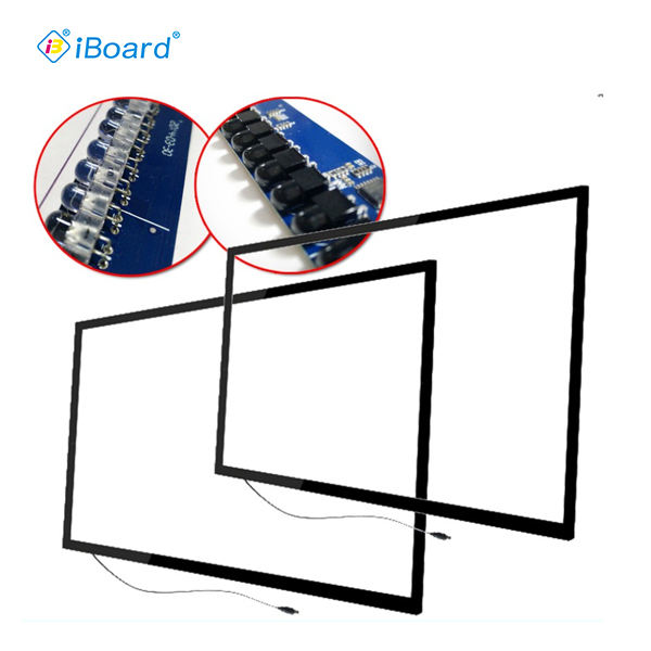 iBoard factory price Infrared touch frame without tempered glass