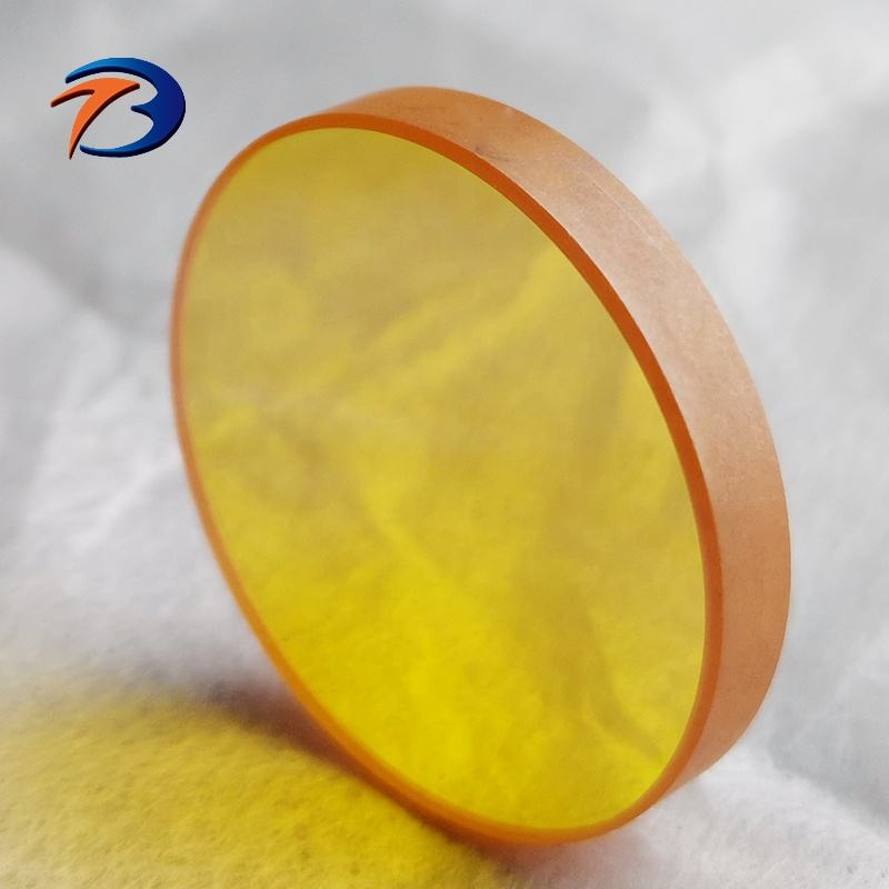 Standard CO2 laser cutting lens 28mm 50.8mm optical plano focusing lenses with AR coating