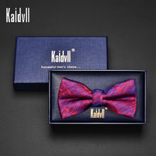 Men's Fashion Business Wedding Accessories Male Dress Wholesale Satin Bow Ties for Men