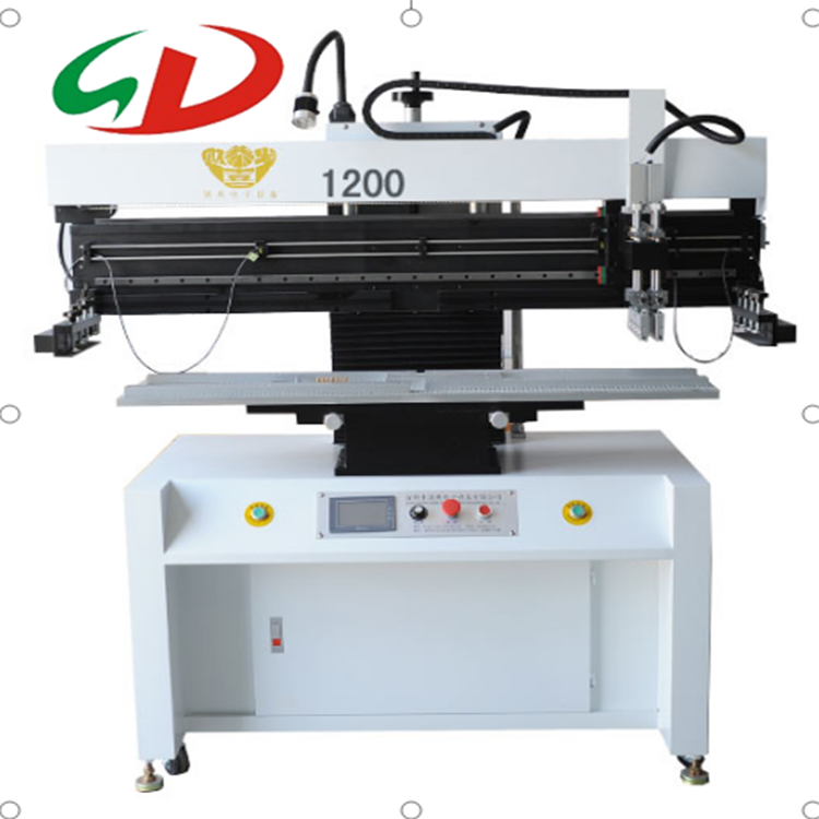 Semi-auto High Precision Screen Dispenser Printer for SMT production line