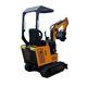 Hydraulic Excavator Hydraulic Excavator Micro 1 Ton Hydraulic Mini Excavator Crawler Excavator