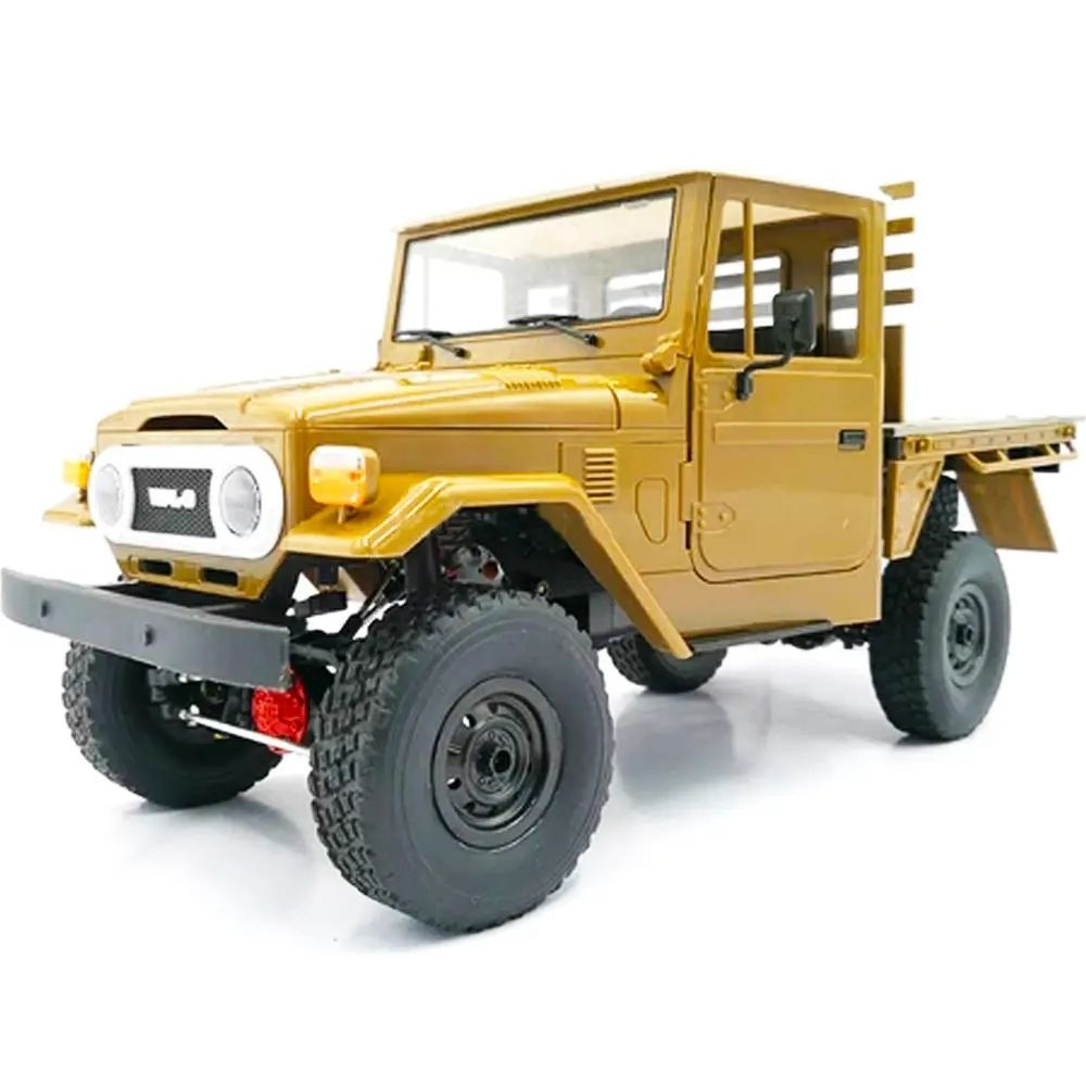 WPL C44KM Crawler Truck Metal Edition Unassembled KIT 1/16 4WD RC Car Off-Road Vehicles