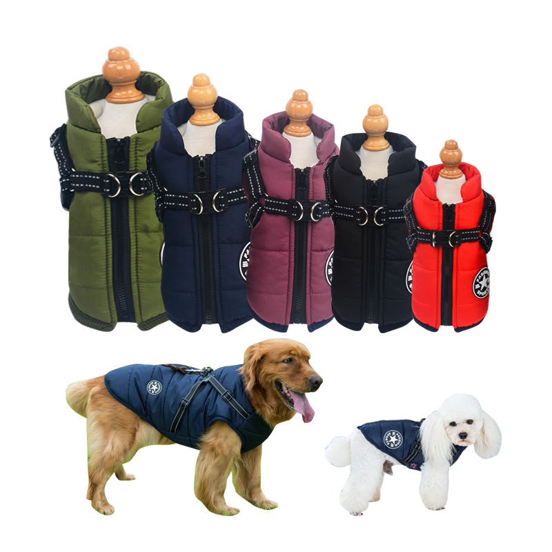 Wholesale Waterproof Pet Dog Coat Winter Dog Clothes Jacket For Small Medium Big Dogs