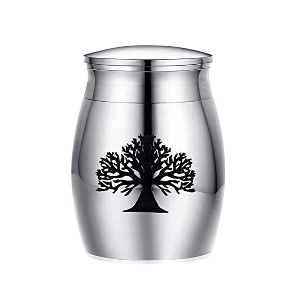 Human Ashes Funeral Dog Cremation Urn Casket Container Mini Small No Deformation Memorials For Pets Mouse Cat Stainless Steel