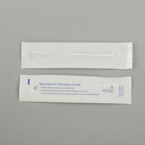 china manufacturers dna sampling nylon flocked plastic medical nasopharyngeal oropharyngeal nasal collection swabs