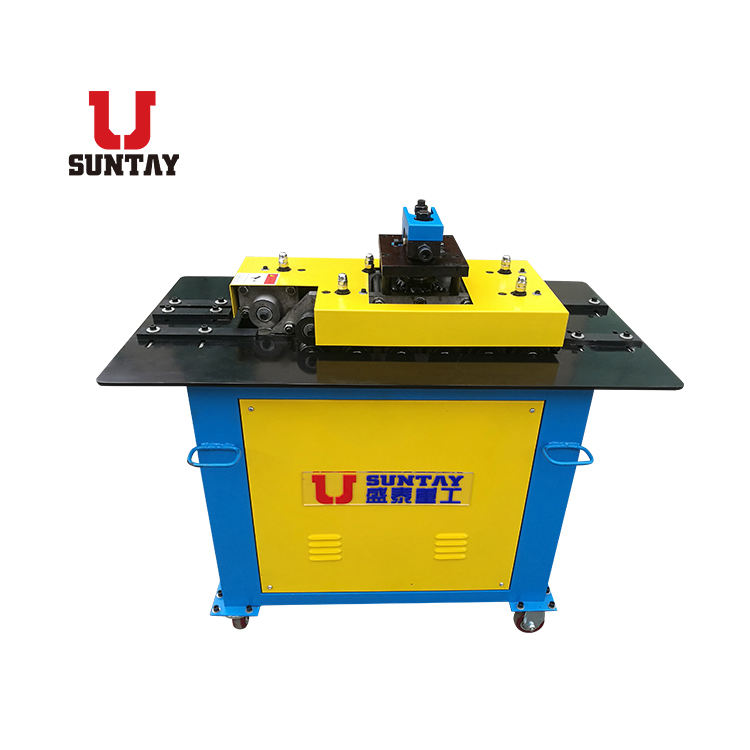 New square duct 1.5mm steel Pittsburgh Locking machine with good quality