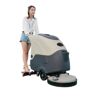 Hospital/factory/warehouse/supermarket automatic walking good price floor cleaning washing scrubber machine for sale