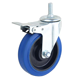 Best Sell Wholesale Industrial Rubber Swivel Caster Furniture Wheel Blue TPR