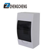 ZCEBOX White color and ABS material panel 24 way smart dc power distribution unit  distribution box