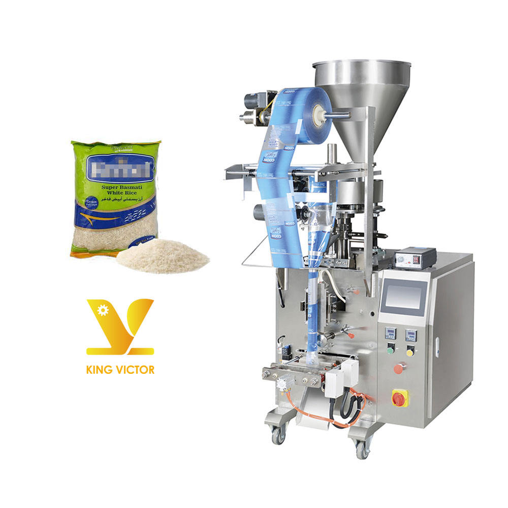 Auto Packing Machine Factory Price For Grains Raw Rice Lentils And Beans
