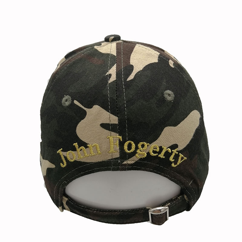 2020 Army Green Fortunate Son Printing Unisex Fashion Design 6 Panel Sport Baseball Hat Cap