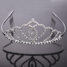 2015 New arrived Fashionable Fashion Bridal Crown Wholesale Pageant Crowns and Tiaras Wedding Hair Accessories Wedding Tiara