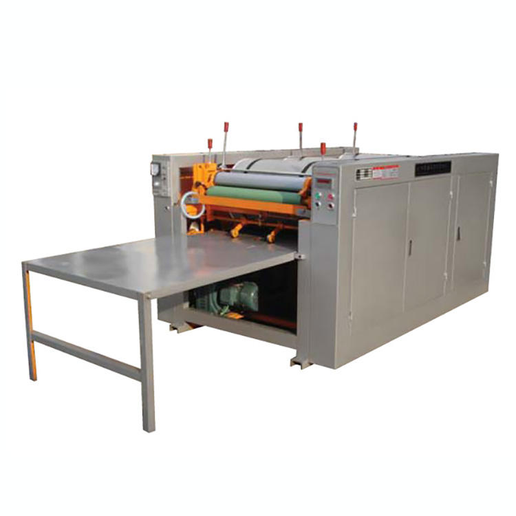Automatic plastic woven sack multicolor offset press printing machine
