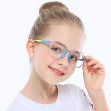 fashion optical eyeglasses frames kids bluelight filter computer gaming glasses anti blue light blocking glasses for kids 2020