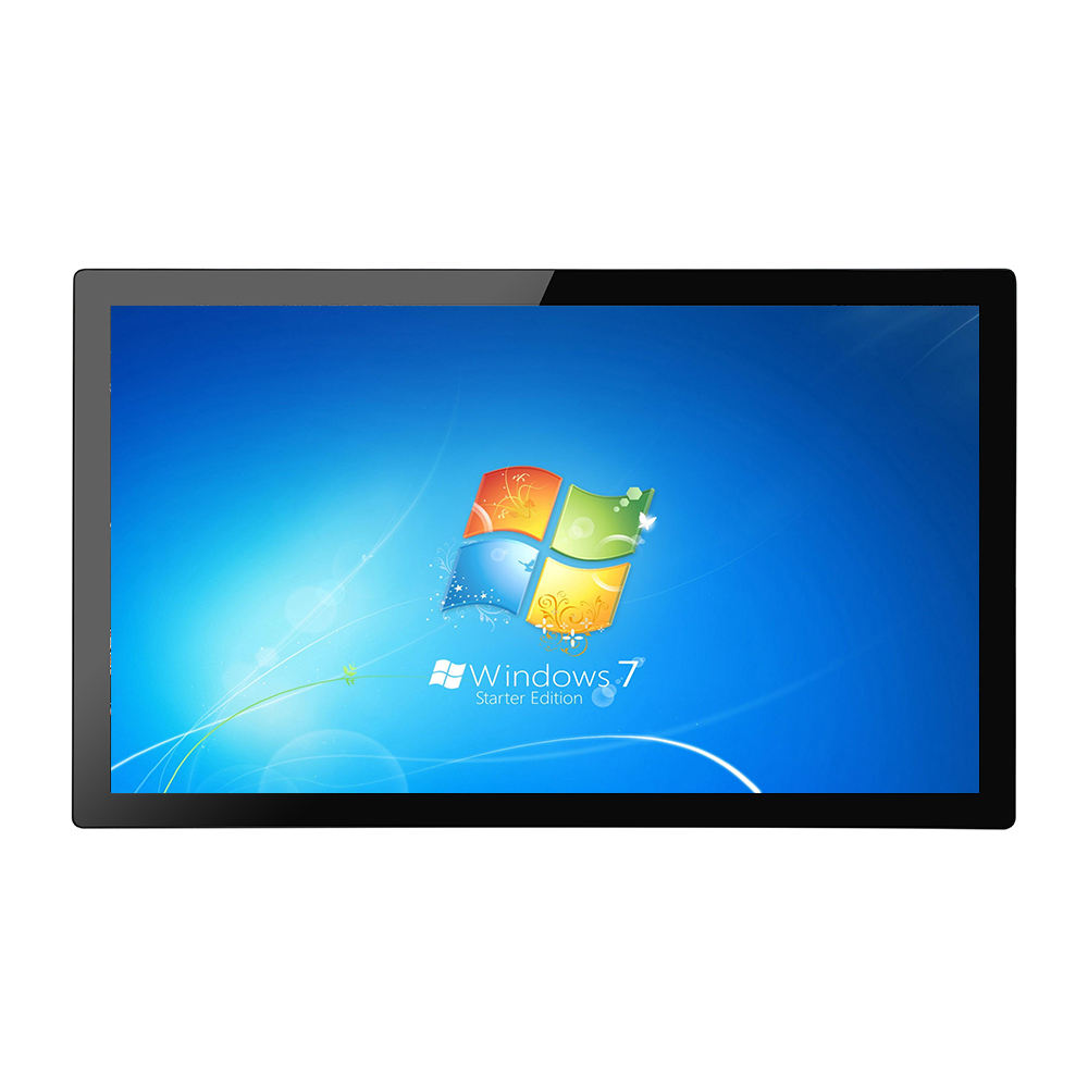 cheap 21.5 inch J1900 4GB 64GB SSD wall mounted touch screen pc all in one panel pc for self-service kiosk