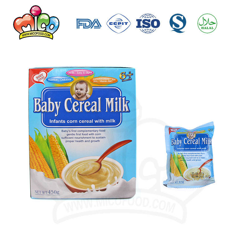 best-selling corn milk baby infant cereal for africa market