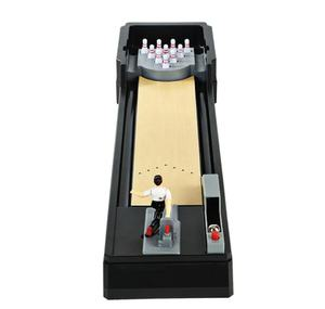 Stormstar Mini Indoor or Outdoor Table Top Bowling Games for Family Classic Desk Ball Board Game for Kids and Adults
