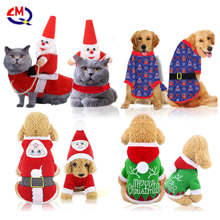 Clothes for Dog Costume Christmas Pet Clothes Winter Hoodie Coat Pet clothing/dress Pet